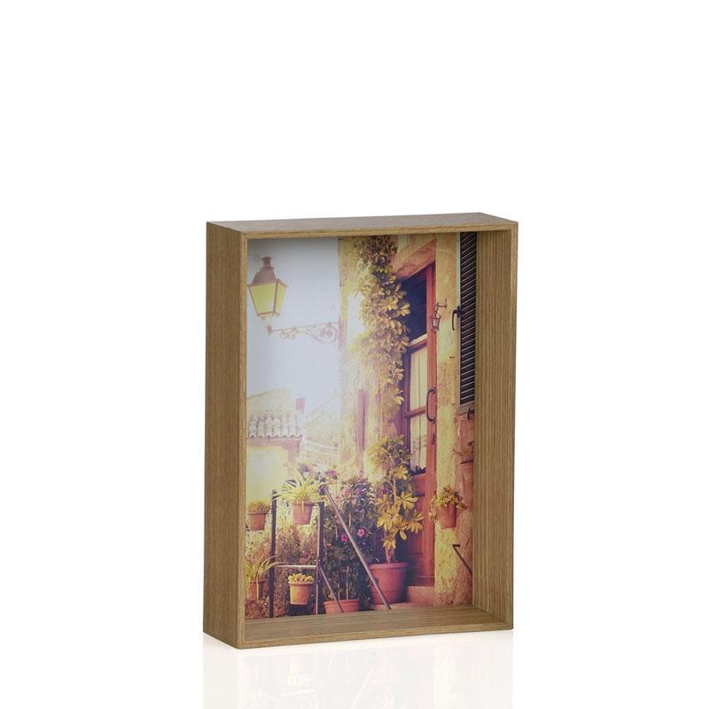 Marco de madera de roble 13x18 orden en casa for Zapateros de madera de roble