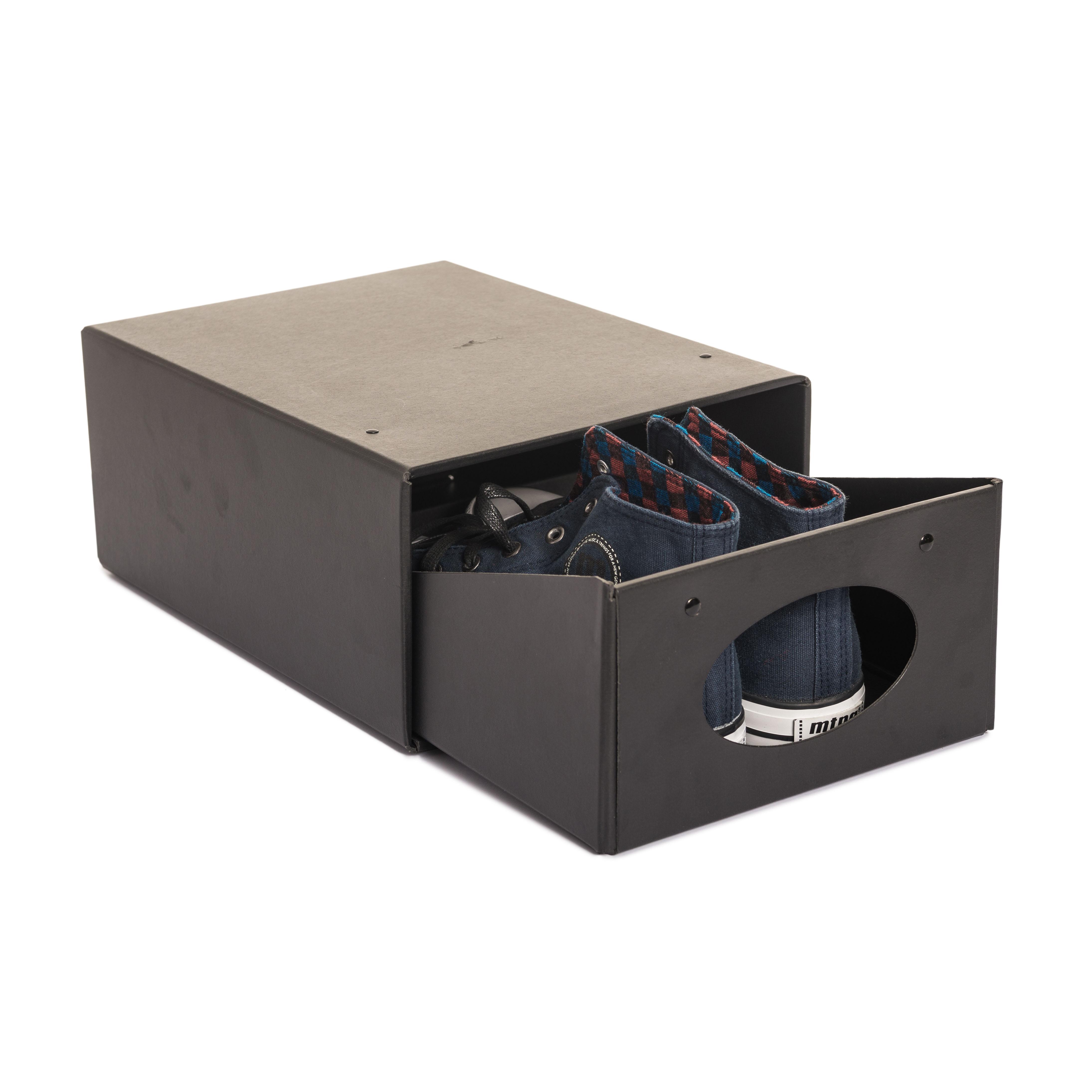 Caja zapatos scott orden en casa - Cajas transparentes para zapatos ...